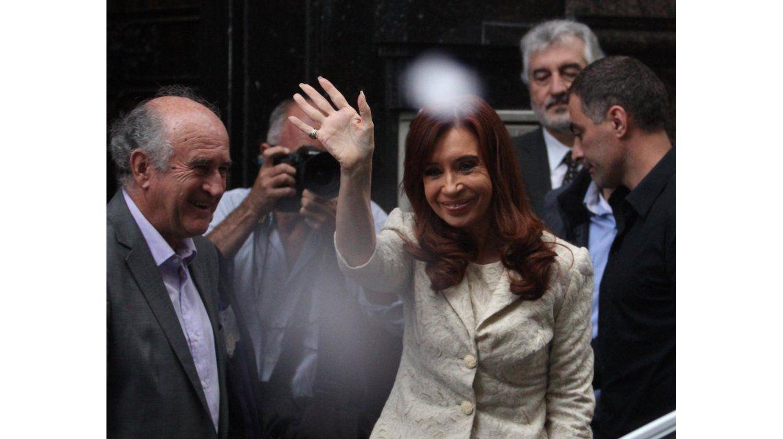 Cristina recibe a intendentes bonaerenses del FpV