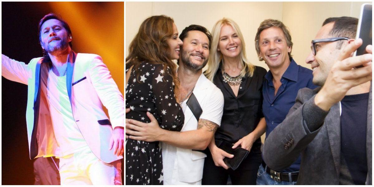 Diego Torres volvió a los escenarios argentinos: las fotos de sus conciertos