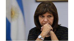 Patricia Bulrrich, ministra de Seguridad de la Nación