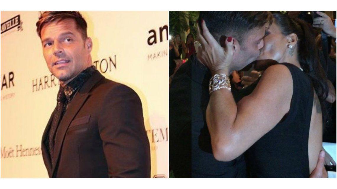 Video: una fan pagó 90 mil dólares por besar a Ricky Martin