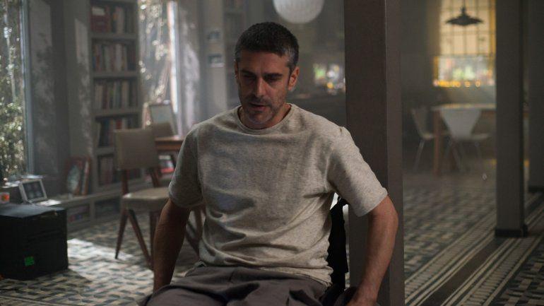 Leo Sbaraglia, en sillas de ruedas para una película