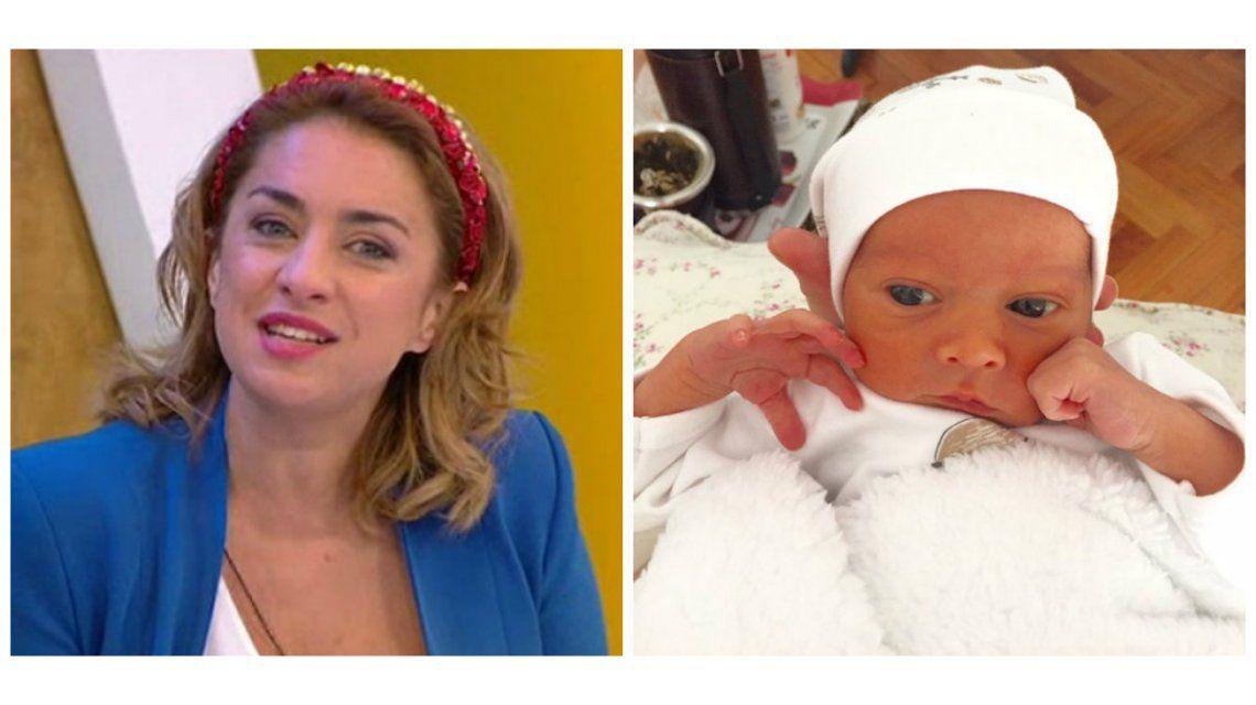 María Julia Oliván y su flamante maternidad: Creo que enloquecí