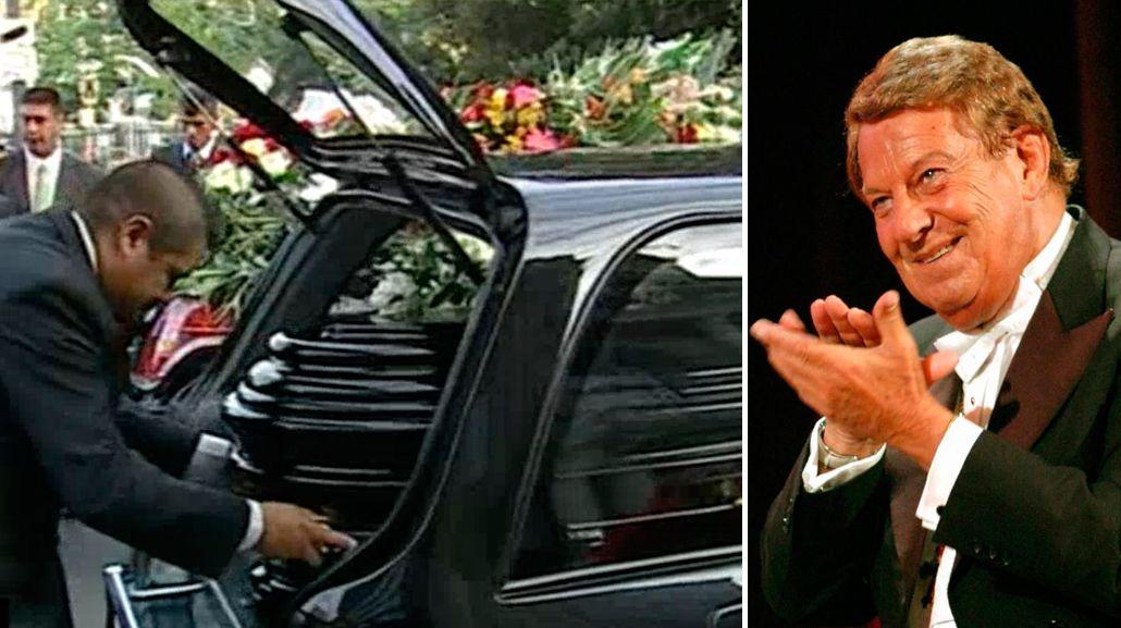 VIDEO: Así fue el último adiós a Mariano Mores