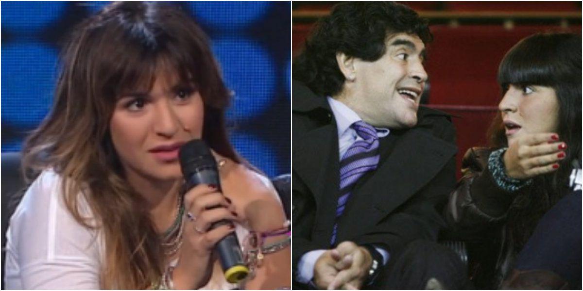 Gianinna Maradona contó cuál fue la situación más difícil de su vida con Diego