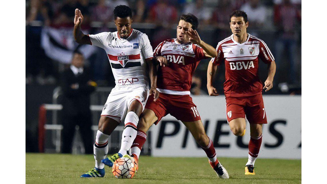 River cayó ante San Pablo y no pudo cerrar su pase a octavos de la Libertadores