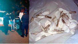 Detuvieron a 2 travestis que vendían droga