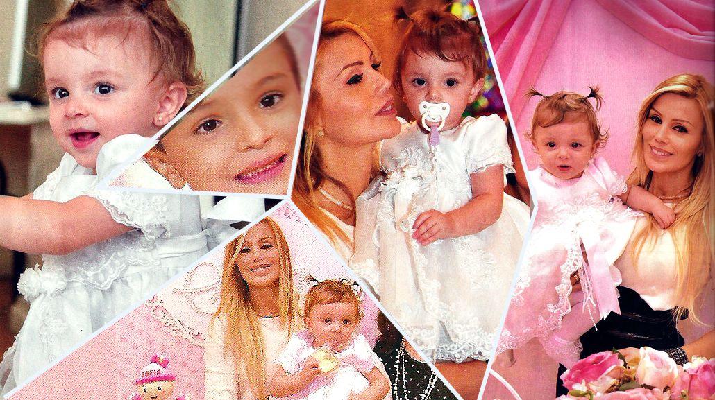 Panam celebró el primer cumpleaños y el bautismo de su hija Sofía