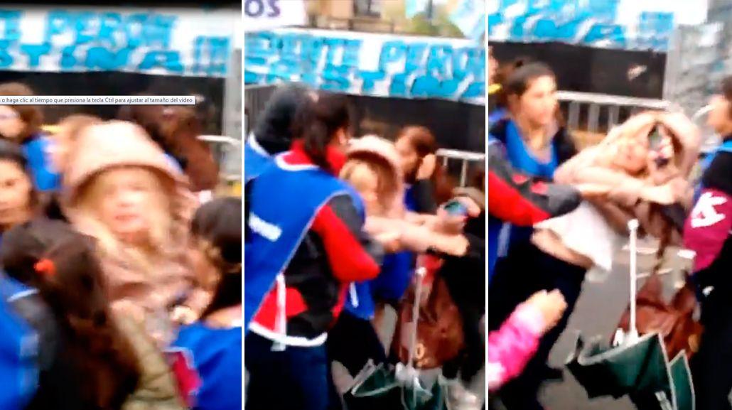 VIDEO: La periodista Mercedes Ninci denunció que fue agredida en Comodoro Py