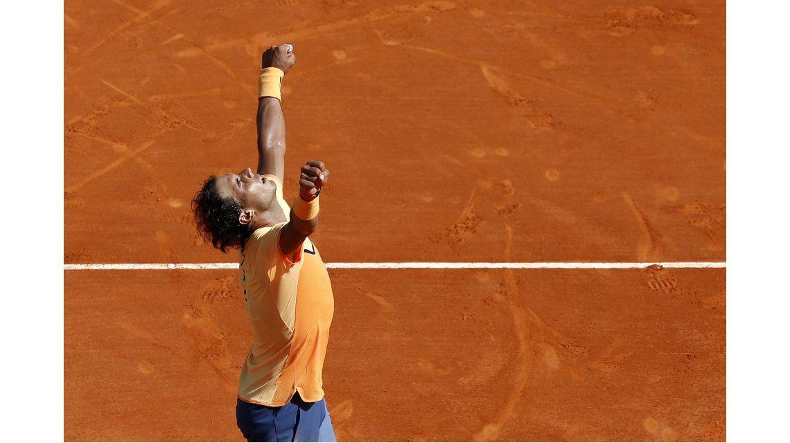 Rafa Nadal volvió a consagrarse en Montecarlo y se perfila para Roland Garros