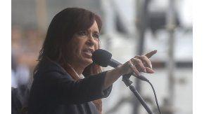 Cristina Fernández de Kirchner en Comodoro Py