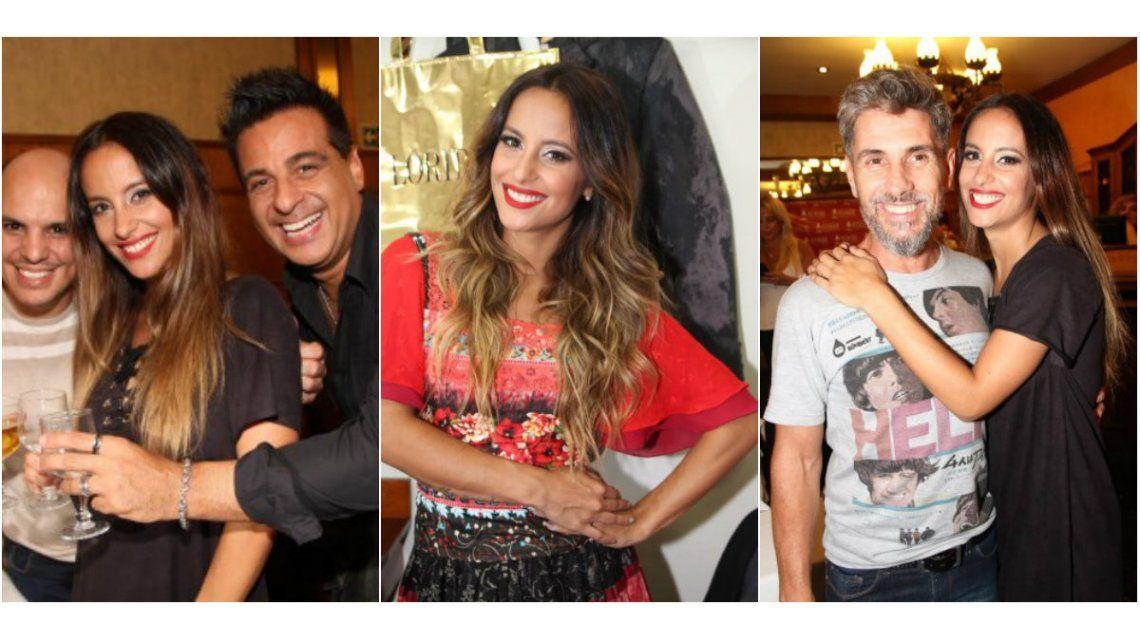 Las fotos de Lourdes Sánchez y Marcelo Iripino en el debut de Bien Argentino