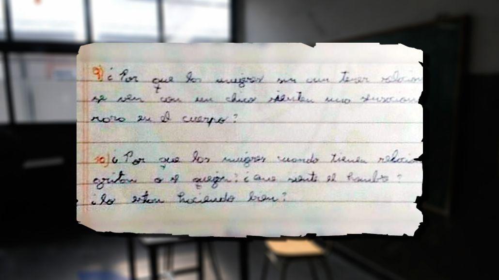 Detuvieron a un profesor por acosar a sus alumnas: ofrecía buenas notas por sexo