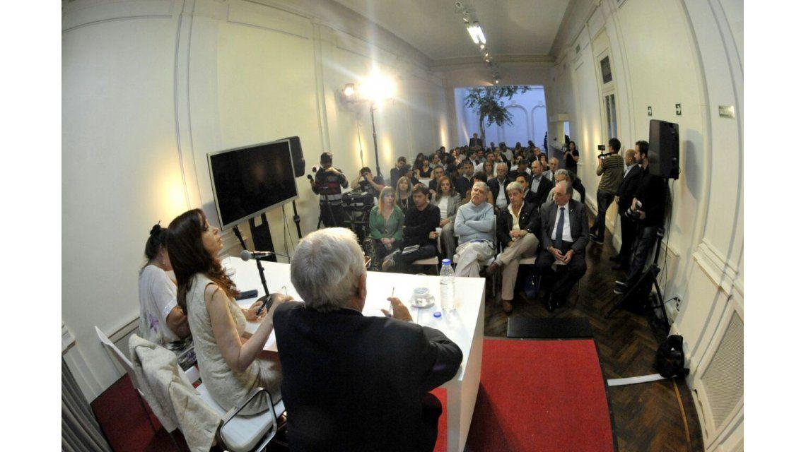 Cristina Kirchner se reunió con diputados del Frente para la Victoria