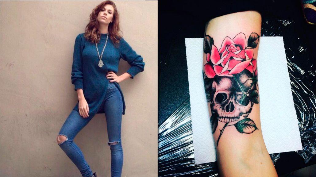 El nuevo tatuaje de la ex de Mariano Martínez, Juliana Giambroni: Let it burn