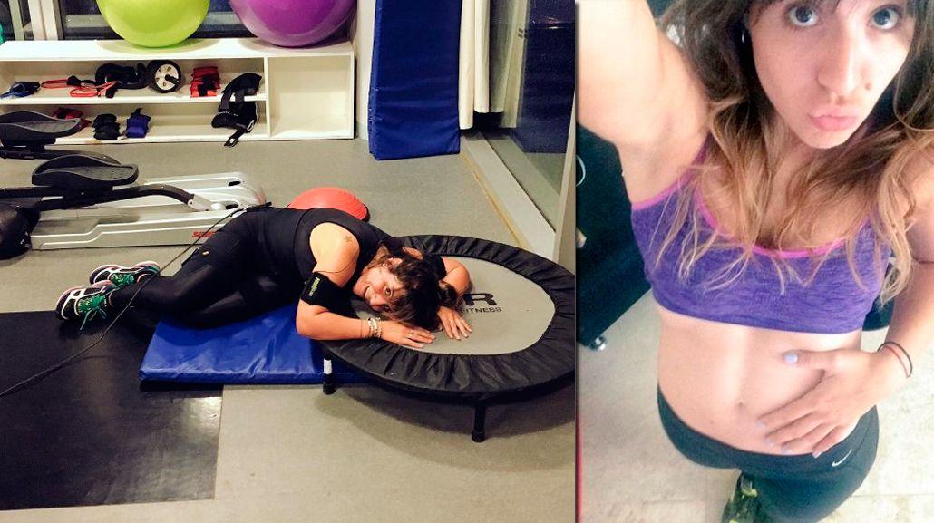 ¿Cómo es el entrenamiento extremo de Gianinna Maradona?