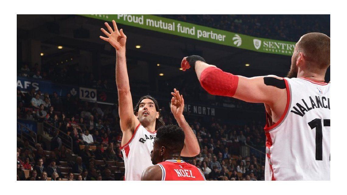 NBA: Gran actuación de Scola en un nuevo triunfo de los Raptors