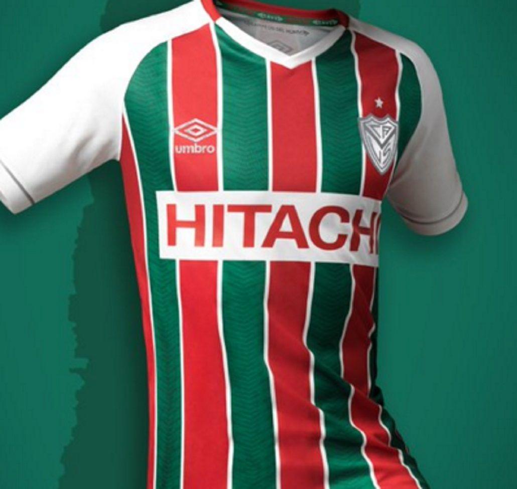 Conocé la novedosa camiseta que Vélez estrenará el próximo domingo