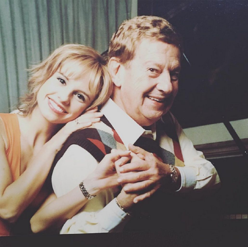La foto vintage de Mariana Fabbiani con Mariano Mores: Guardaré cada palabra en mi corazón