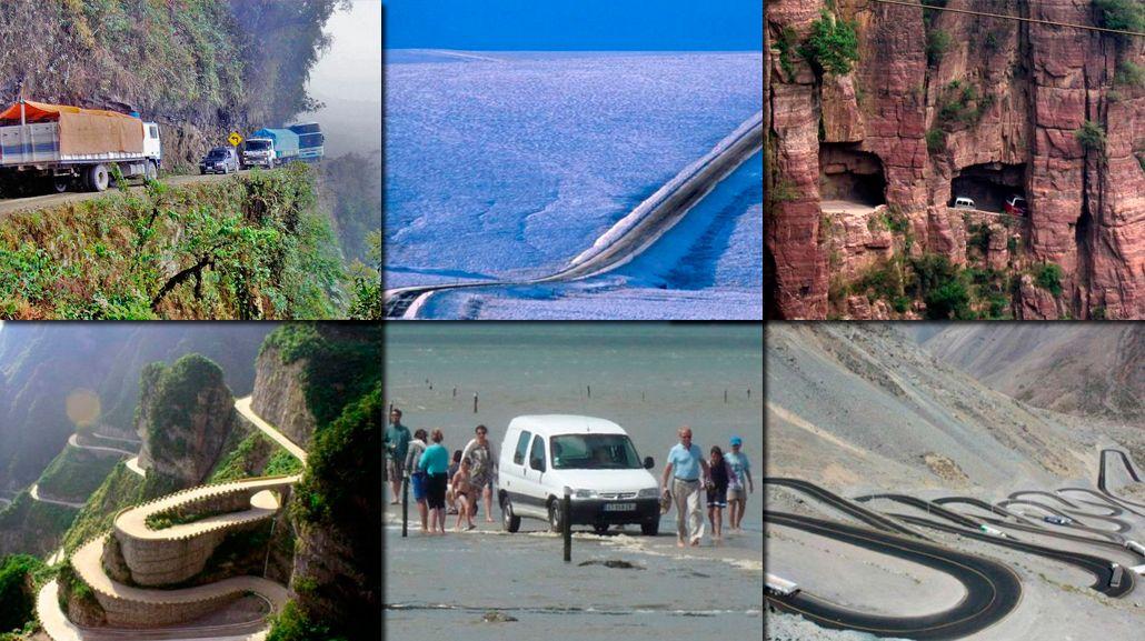 Conocé las 10 rutas más peligrosas de todo el mundo