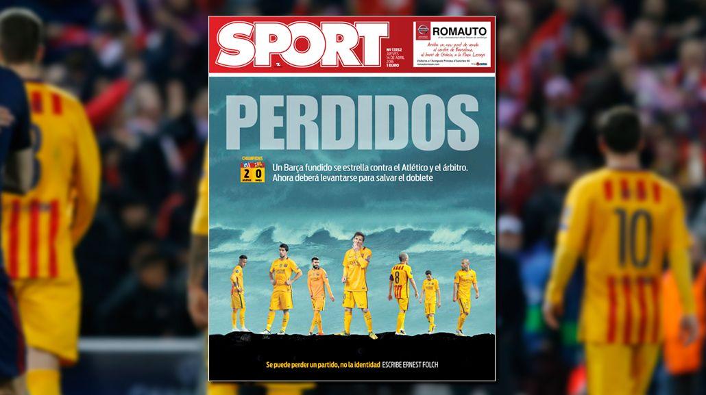 La prensa castigó a Messi por su falta de intensidad: Nos llevó al abismo