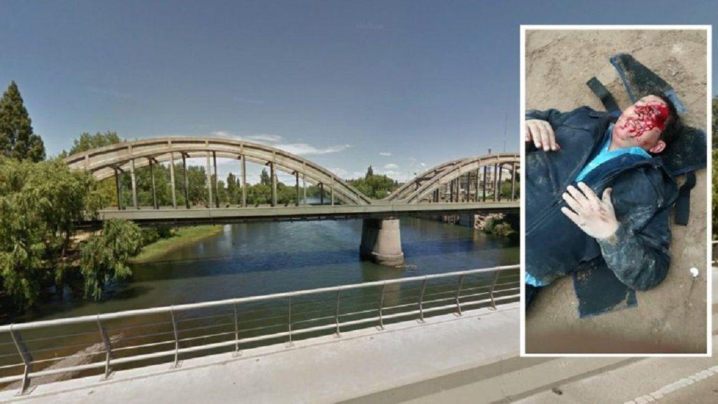 De película: le partió la cabeza a un policía y se tiró al río para intentar escapar