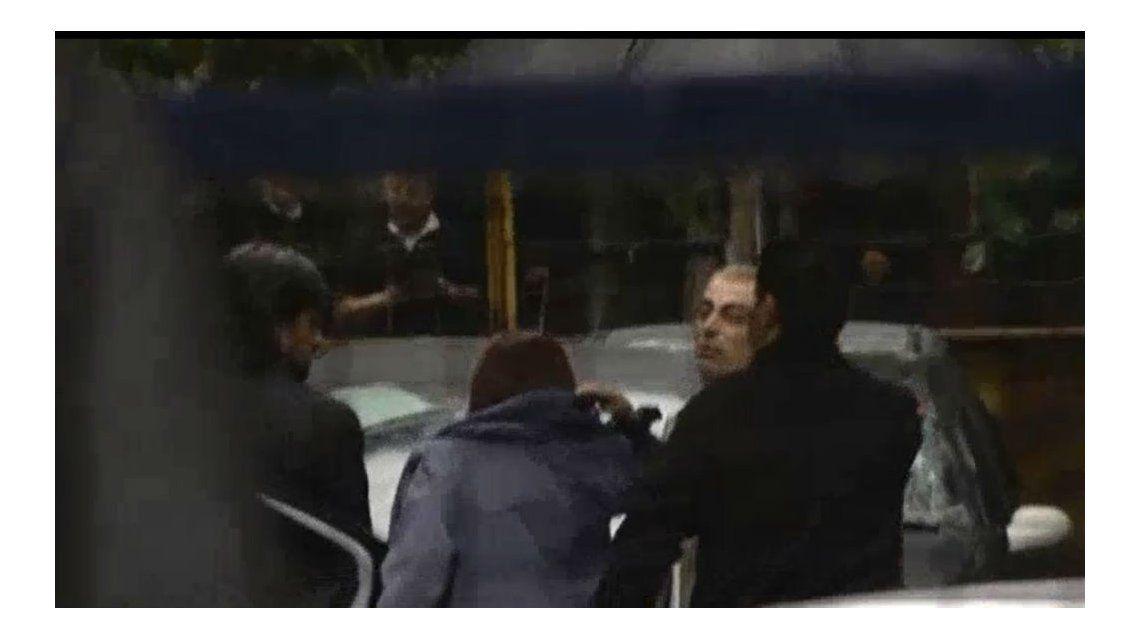 VIDEO: Así llegó Cristina a Comodoro Py