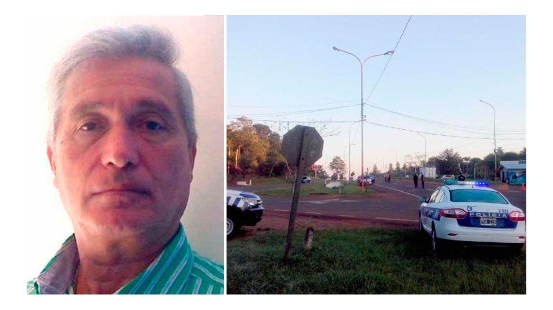 Hallaron un cuerpo en Misiones e investigan si se trata de Jorge Chueco