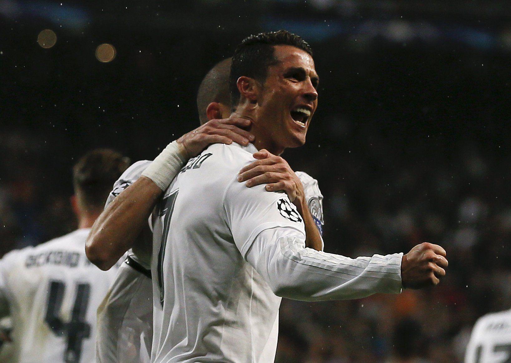 Real Madrid logró la hazaña con un triplete de Cristiano y está en semis de Champions