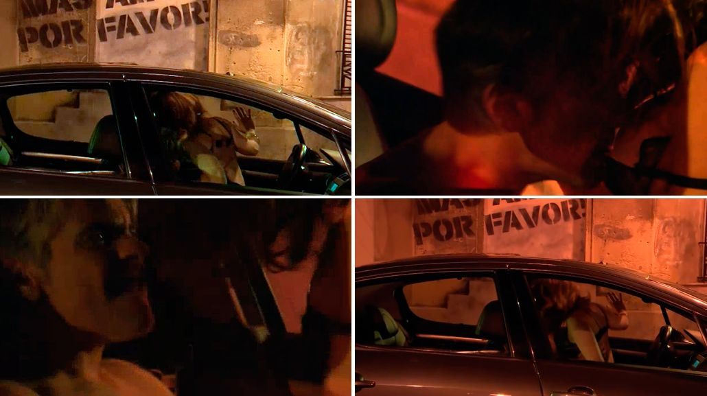 Nancy Dupláa y Pablo Echarri tuvieron sexo desenfrenado en un auto