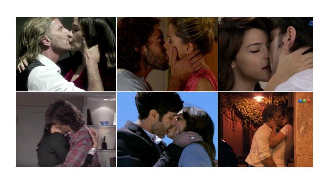 En el día internacional del beso, ¿cuál te gustó más de la TV argentina?