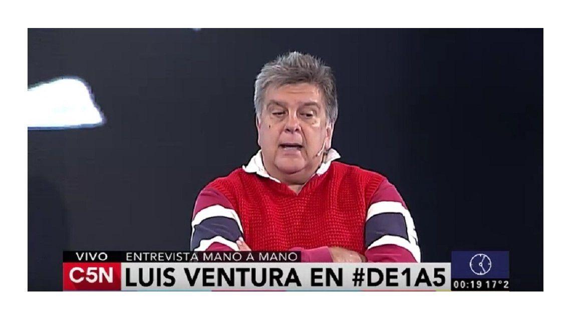 Luis Ventura: En mi vida me agarré a trompadas muchas veces; tengo medio dentadura postiza