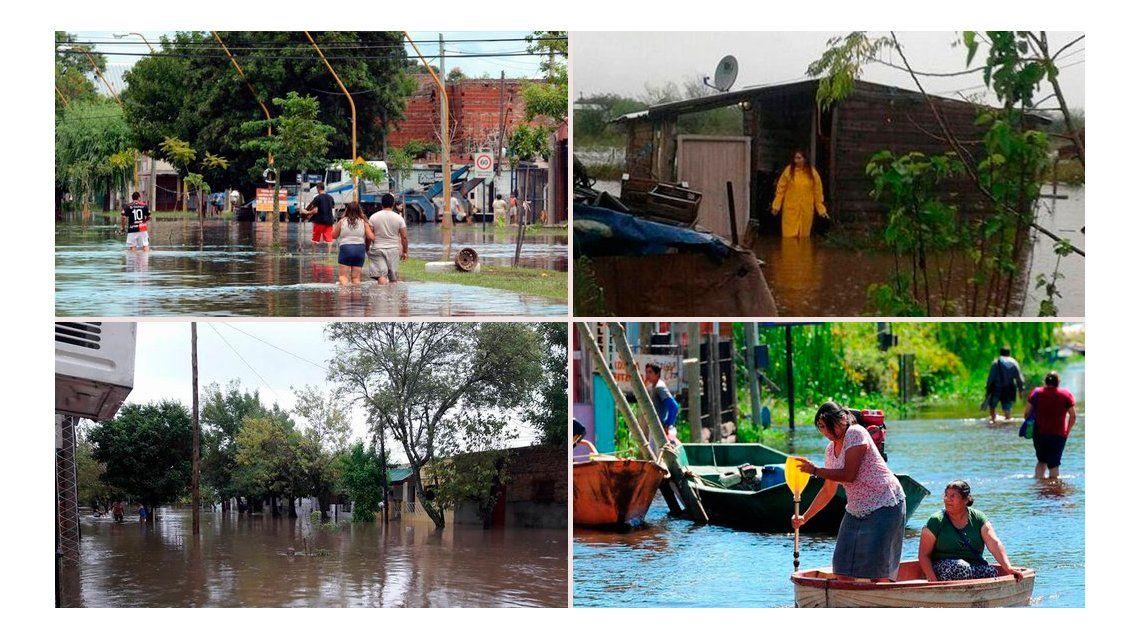 Rige un alerta meteorológico para las zonas afectadas por inundaciones