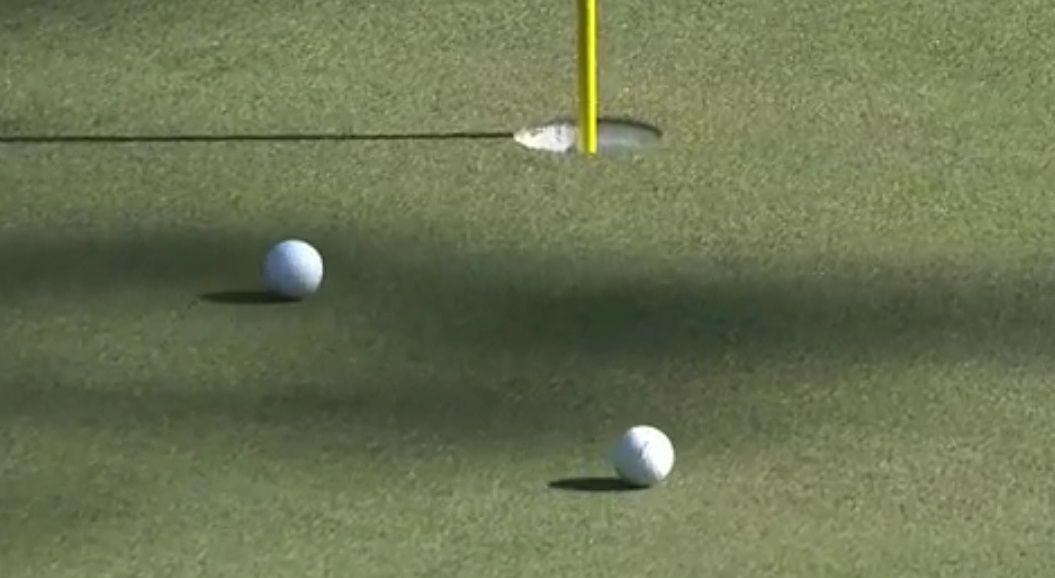 Impresionante: carambola y hoyo en uno en el Masters de Augusta