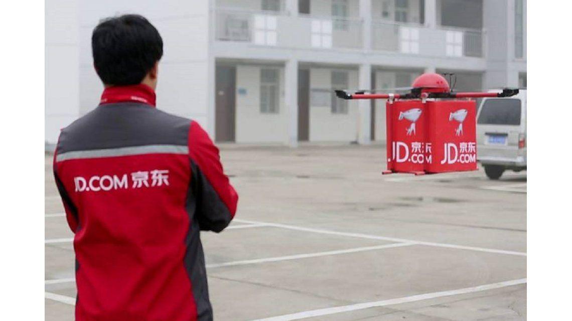 Comienzan a probar un servicio de reparto a domicilio con drones