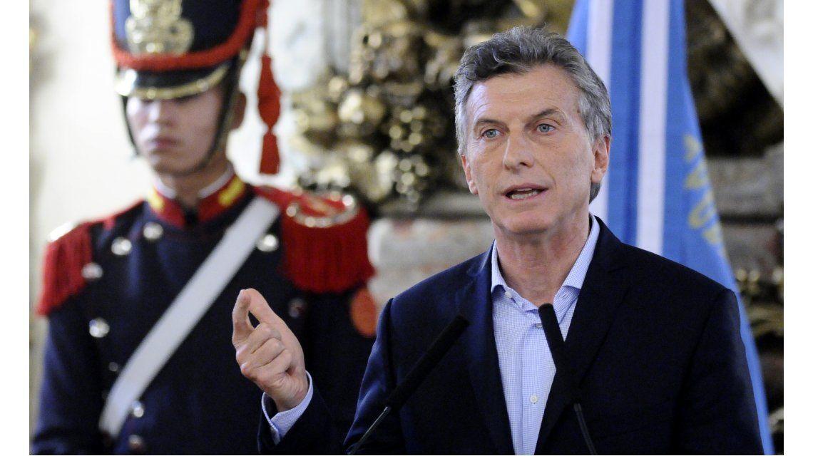 Macri presentó ante la justicia civil una declaración de certeza