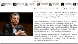 Para The New York Times, el caso de Macri es uno de los más graves