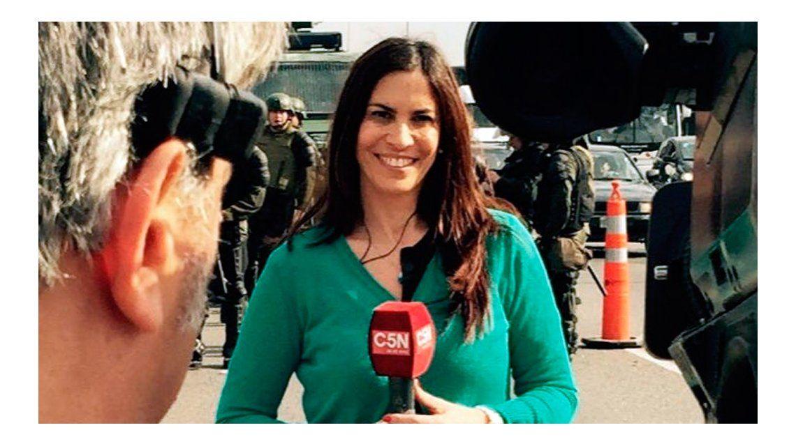 Amenazaron de muerte a una periodista de C5N