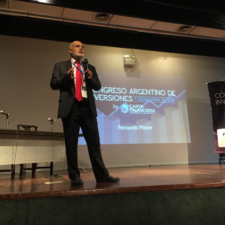 Ámbito Financiero participó del Congreso Argentino de Inversiones