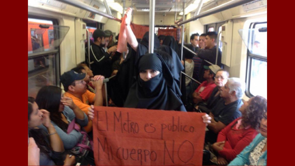 Las 16 ciudades más peligrosas para que las mujeres viajen en transporte público