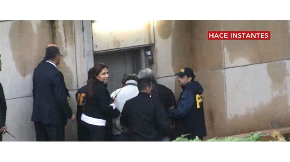 Lázaro Báez ya se encuentra frente al juez Casanello