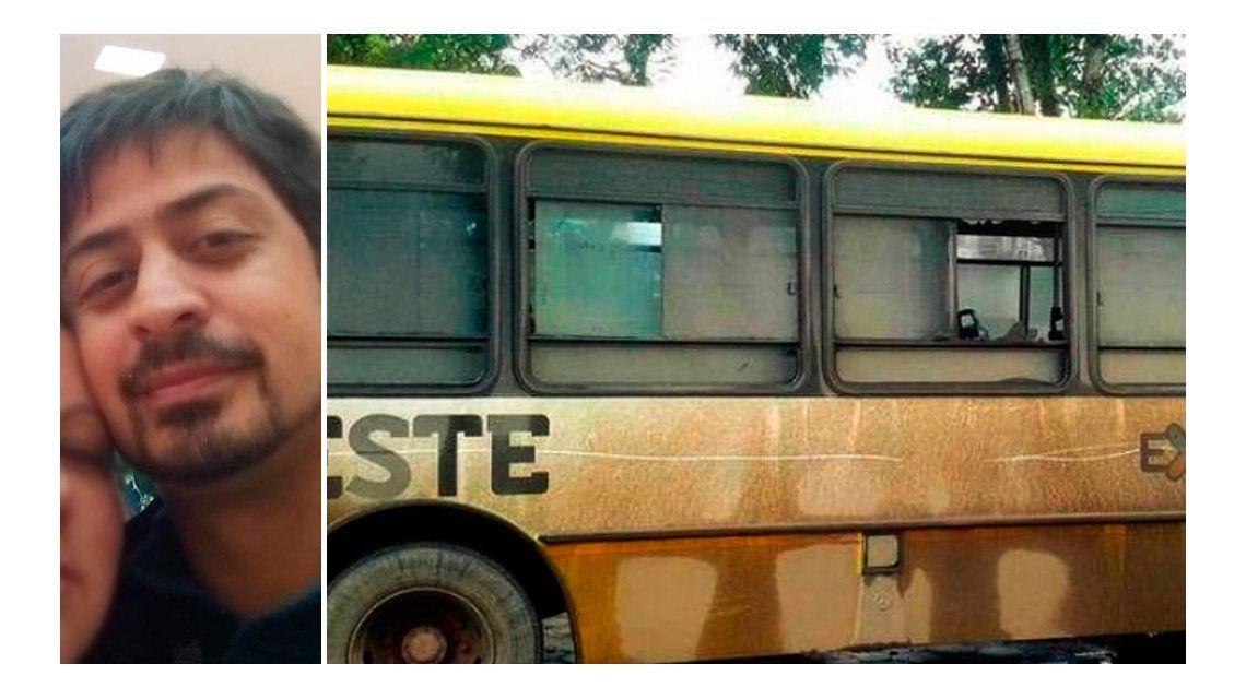 Murió el hombre que recibió un piedrazo en un colectivo en La Plata