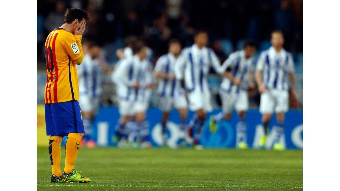 Barcelona no pudo vencer al arquero Rulli y volvió a perder en la Liga española