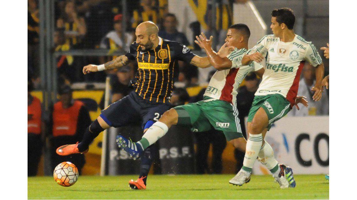 Rosario Central y Palmeiras empatan en Arroyito