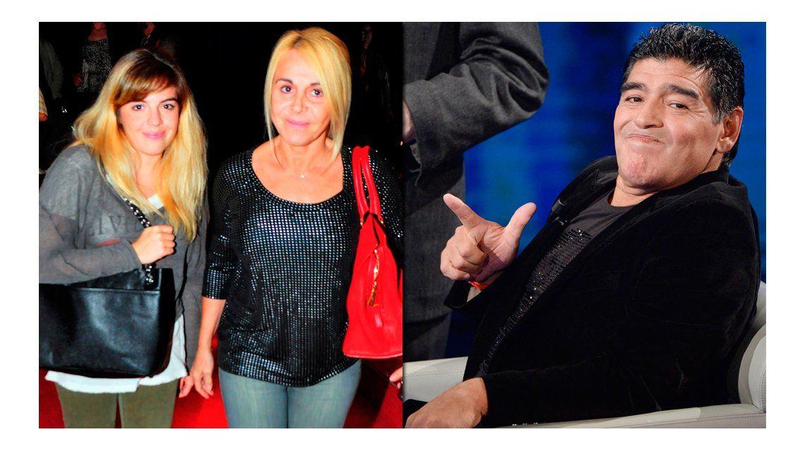 Dalma Maradona: Las declaraciones de mi papá dan lástima