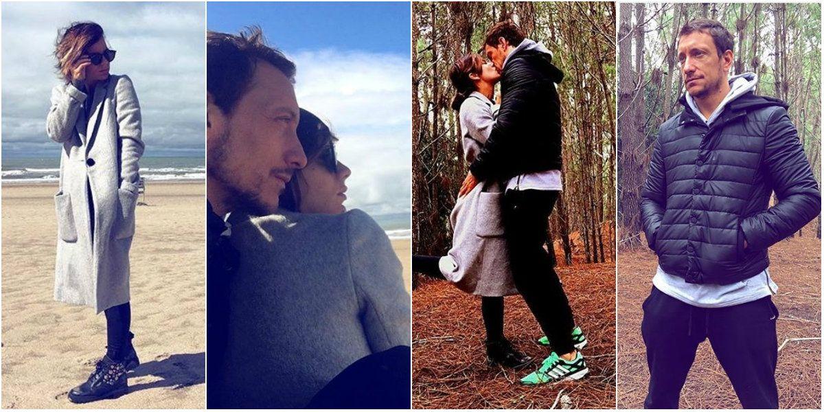 Las románticas vacaciones de Nico Vázquez y Gime Accardi