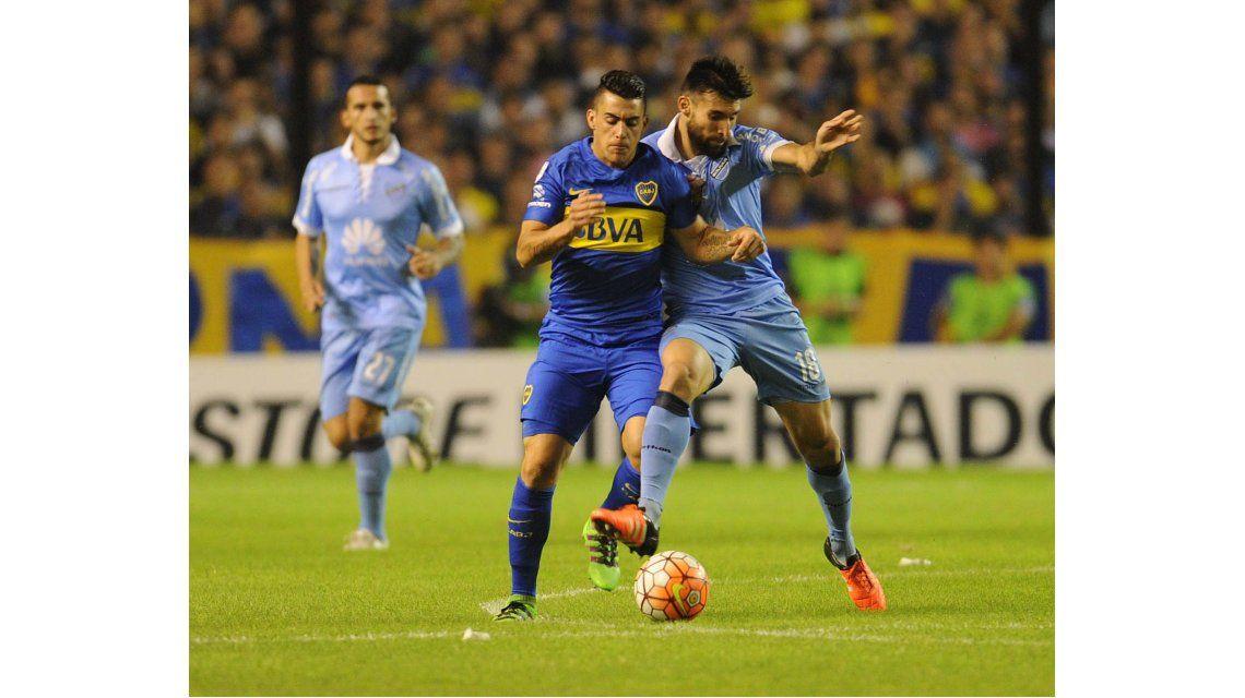 Boca venció al Bolívar y se acomodó en su grupo de la Libertadores