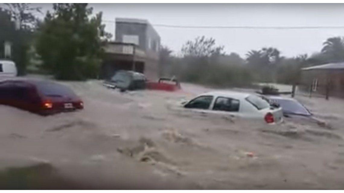 VIDEO: Desastre en Entre Ríos por un fuerte temporal