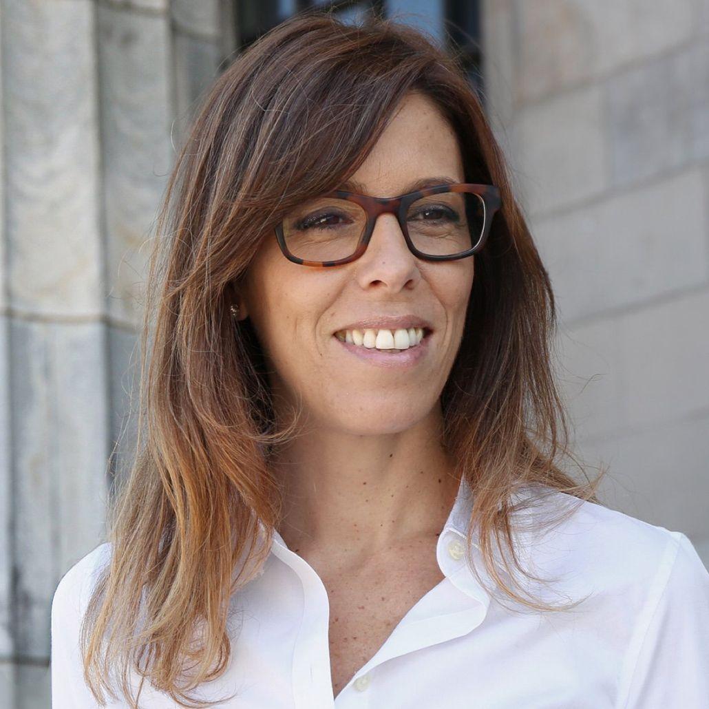 Laura Alonso patinó y no cumplió el rol que le correspondía