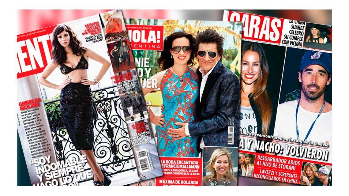 Mirá las tapas de las revista de la semana