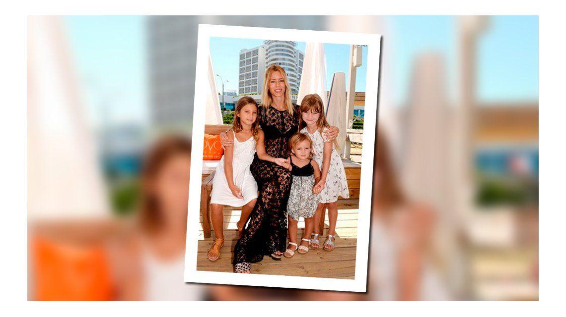El tierno video de Nicole Neumann con sus hijas en la hamaca